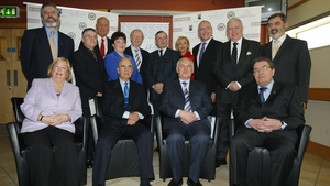 Some of the key players involved in brokering the Good Friday Agreement reunite to mark its 10th anniversary