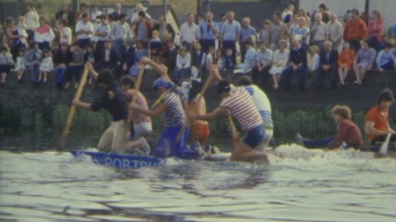 National Raft Race, Drogheda, County Louth (1983)