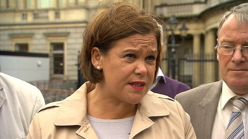 Mary Lou McDonald said it is not an ideal scenarionor the ideal climate for a referendum