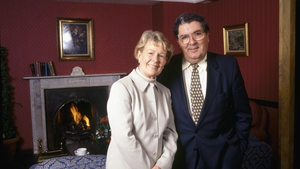John Hume and his wife, Pat, pictured in 1998 (Pic: RTÉ Stills Library)