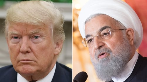 """The US administration performance in these years has led the country to be considered untrustworthy and unreliable,"" Hassan Rouhani said"