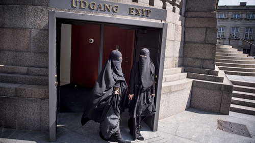 Protest held against burqa ban in Denmark Photogallery