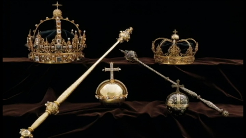 The loot included two royal crowns and an orb (Pic: Strängnäs Domkyrka)