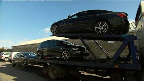 CAB confiscated 31 luxury high end cars deemed to be the proceeds of crime