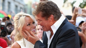 David Hasselhoff and fiancée Hayley Roberts have tied the knot