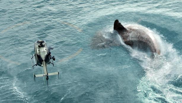 Shark thriller 'The Meg' chomps $44.5M from the box office