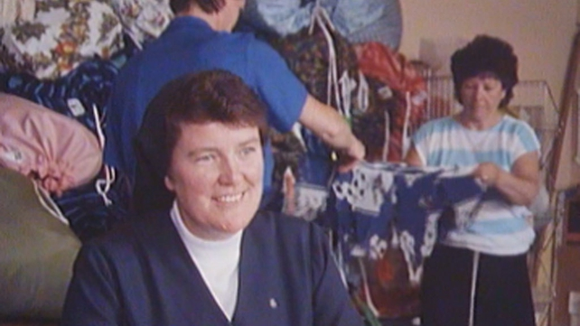 Sister Veronica, youth worker, Ballybough (1988)