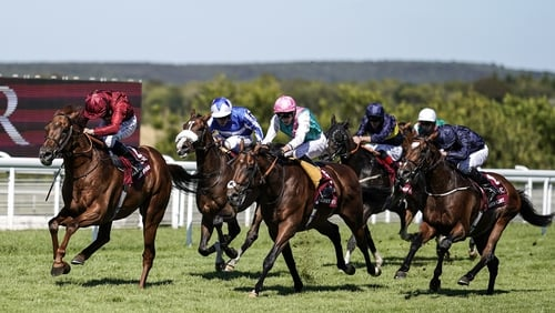 Lightning Spear wins G1 Sussex Stakes