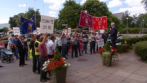 Farmers protest over the use of compulsory purchase orders