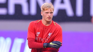 19 year old Irish keeper Caoimhin Kelleher featured for Liverpool on their pre-season tour in the US