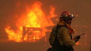 Firefighters are making progress in their efforts to tackle the wildfires
