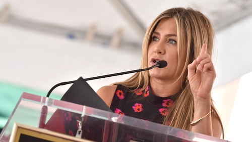 "Jennifer Aniston says she's ""not heartbroken"" after split from Justin Theroux"