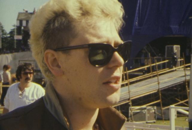 Adam Clayton at the Phoenix Park (1983)