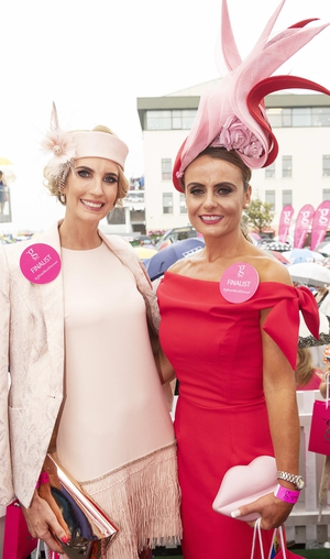 Mairean Garry from Tullamore and Tasha O'Connor made the top 10 finalists.