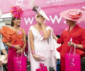 In the end, Charlene Byers from Co. Down was crowned winner of Ladies Day 2018 at the Galway Races.