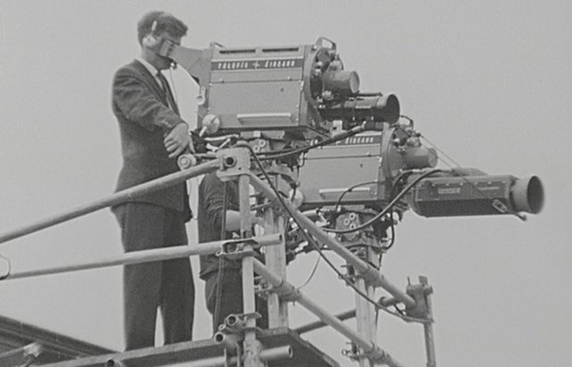 TV Cameras at the Dublin Horse Show (1963)