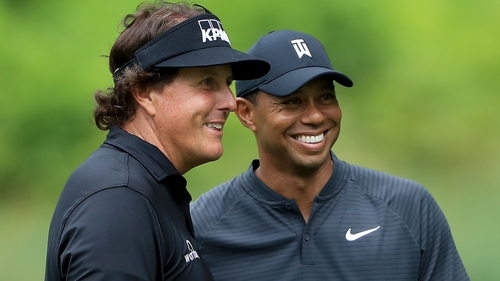 Tiger-Mickelson match set for late November