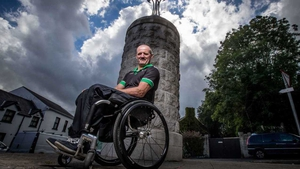 Para-cyclist Declan Slevin