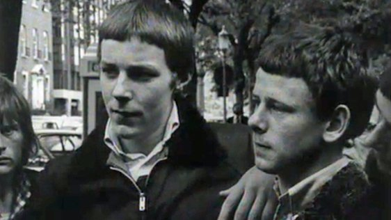 Skinheads at St Stephen's Green, Dublin (1973)