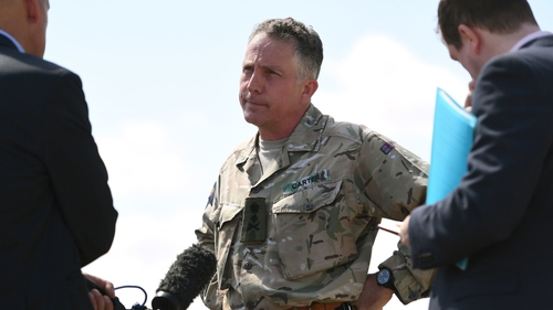 Gen Nick Carter pledged to protect soldiers from vexatious claims