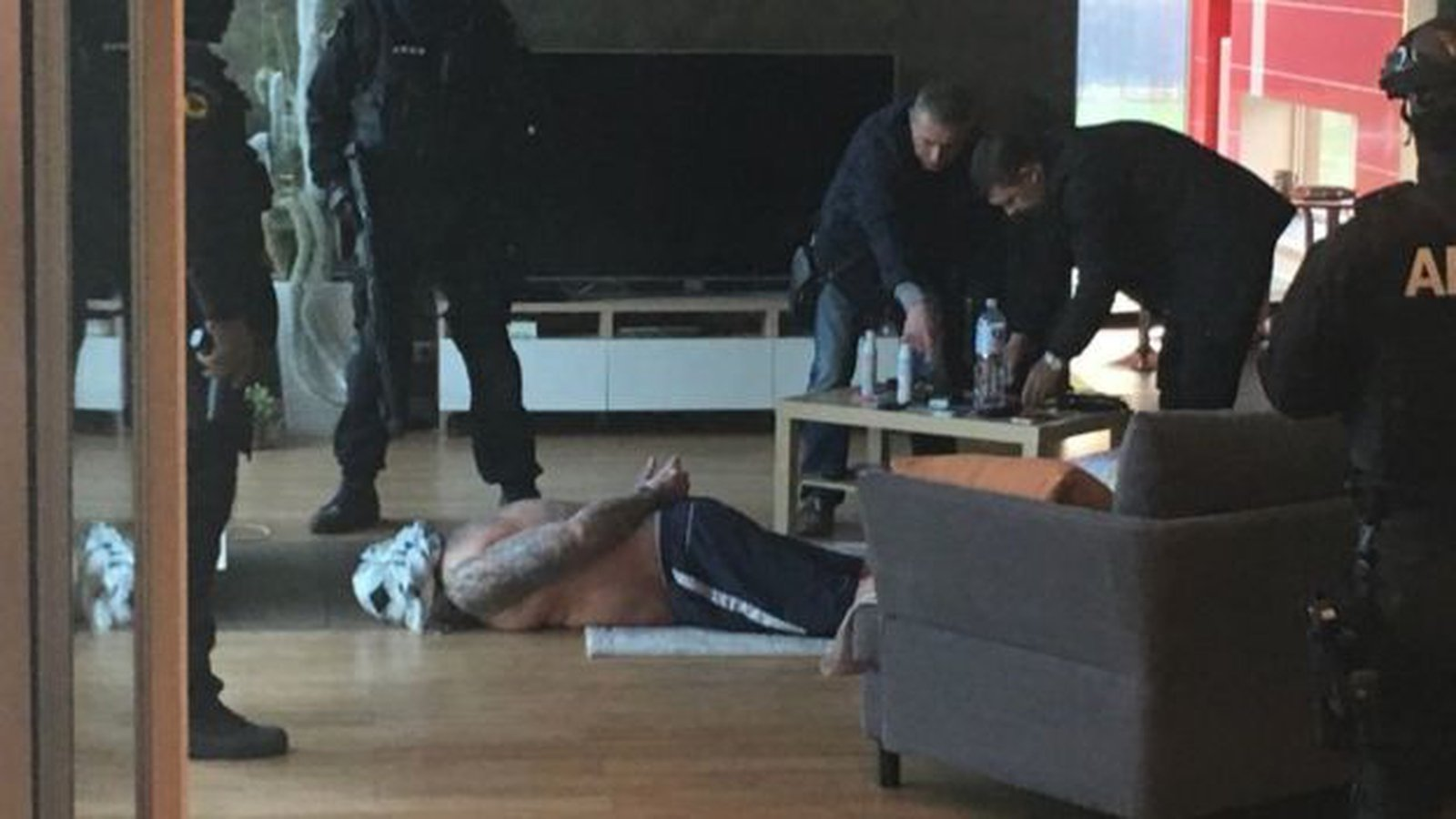 Image - James Mulvey was arrested by Special Forces in Lithuania in 2014