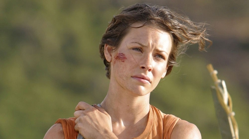 Evangeline Lilly in Lost