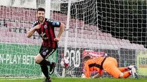 Kevin Devaney opened the scoring for Bohs at Dalymount Park