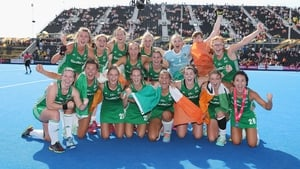 The Irish team who reached the final of the 2018 Women's Hockey World Cup