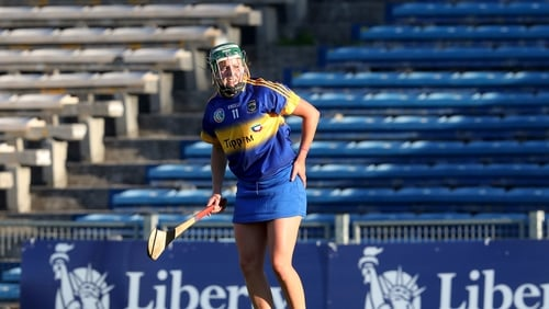 Cáit Devane scored an injury-time goal as Tipperary secured their place in the last four.