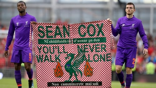 Sean Cox and his brother Martin Cox were heading to Anfield for the Reds' Champions League semi-final tie against Roma when they were attacked by away supporters in April 2018.