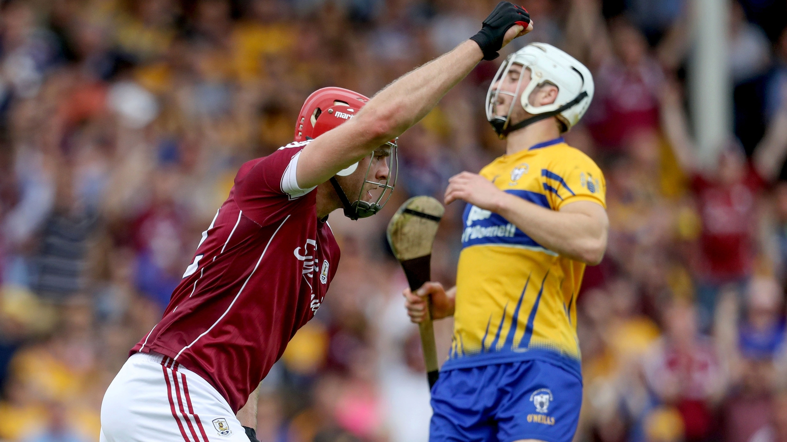 Image - Johnny Glynn is Galway's most physically imposing forward