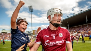 Joe Canning hit eight points in Galway's one point win over Clare in today's All-Ireland semi-final