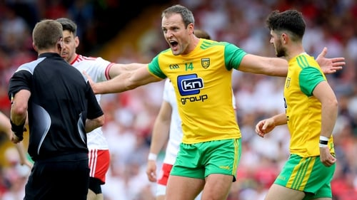 Donegal captain Michael Murphy isn't sure what to think