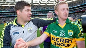 Eamonn F8tzmaurice (L) with Colm Cooper