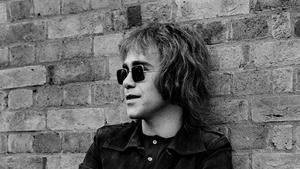 Elton John in 1970 when Border Song first appeared on the Elton John album
