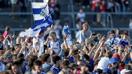 Monaghan fans invaded Salthill for the Galway game