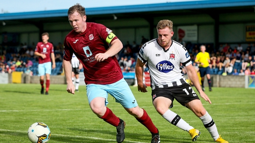 Cobh Ramblers reached the EA Sports Cup final with a victory over Dundalk in St. Colman's Park