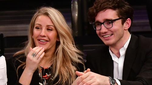Ellie Goulding and Caspar Jopling have been together for 18 months