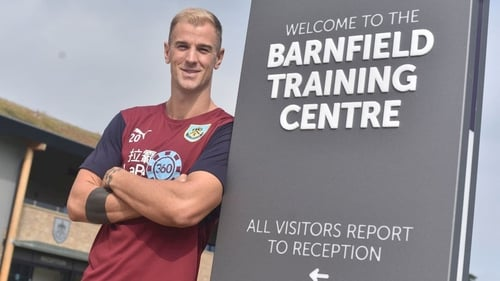 Joe Hart joins Burnley after 12 years as a Manchester City player