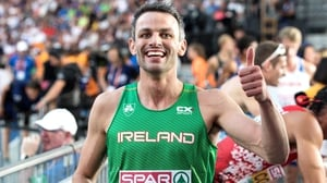 Thomas Barr finished 2nd to reach the 400m hurdles final