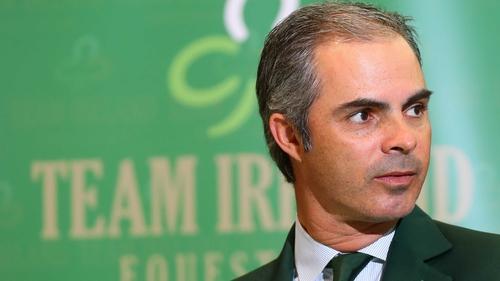 Rodrigo Pessoa has left his role with Ireland