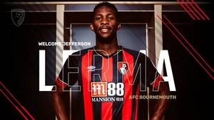 Jefferson Lerma is a Bournemouth player (Photo: Bournemouth AFC)