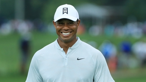 Tiger Woods stopped short of saying he would like to play hurling