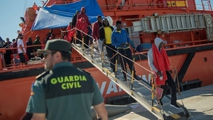 Close to 23,000 people have arrived by sea in Spain so far this year