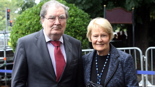 John Hume and his wife Pat endured abuse and intimidation from both sides during The Troubles