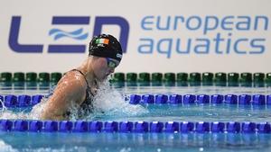 Mona McSharry set a national record