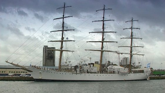 Tall Ships Race in Dublin Port (1998)