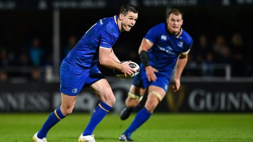 Jonathan Sexton returns to the Leinster line-up