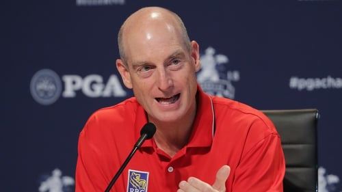 """Jim Furyk has described the Ryder Cup as a """"battle of two giants"""""""