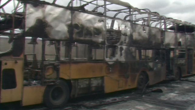 Dublin Bus Depot Fire (1988)